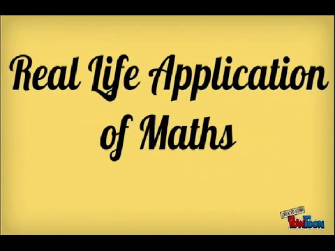 Significant Applications of Math in Real Life
