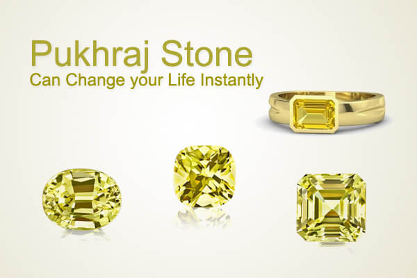 The astrological benefits that is expected when you wear a Pukhraj stone